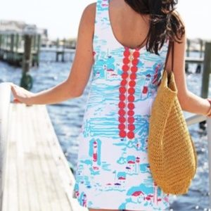 NWT Lilly Pulitzer Lighthouse delia shift dress